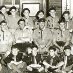 group shot 1957 in St Michaels Hall